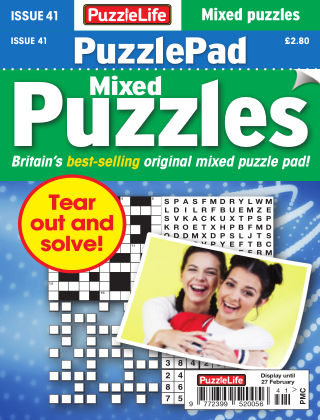 PuzzleLife PuzzlePad Puzzles Issue 041