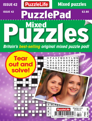PuzzleLife PuzzlePad Puzzles Issue 042