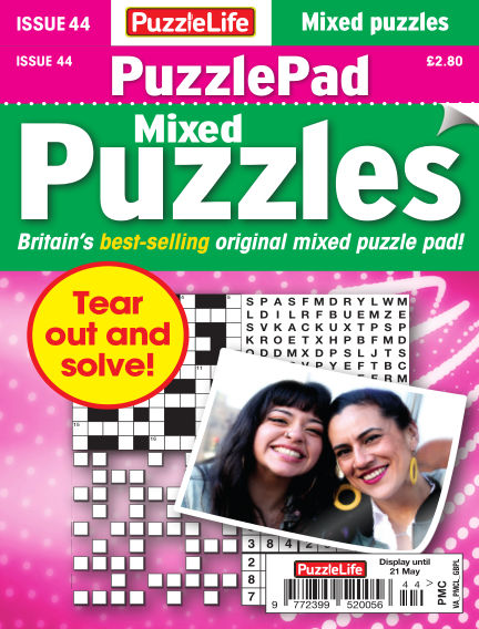 PuzzleLife PuzzlePad Puzzles April 23, 2020 00:00