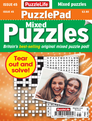 PuzzleLife PuzzlePad Puzzles Issue 045