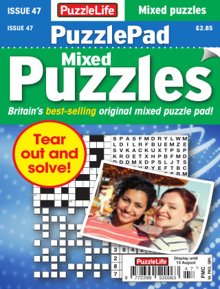 PuzzleLife PuzzlePad Puzzles Issue 047