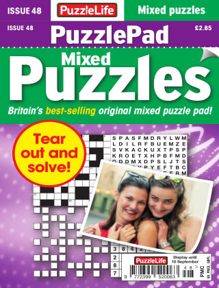 PuzzleLife PuzzlePad Puzzles Issue 048