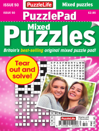 PuzzleLife PuzzlePad Puzzles Issue 050