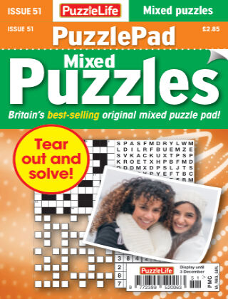 PuzzleLife PuzzlePad Puzzles Issue 051