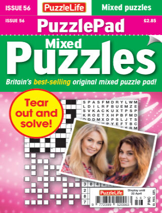 PuzzleLife PuzzlePad Puzzles Issue 056