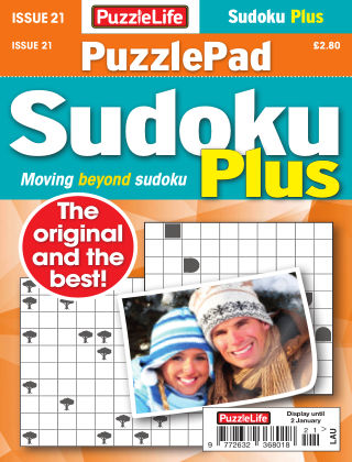 PuzzleLife PuzzlePad Sudoku Plus Issue 021
