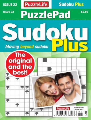 PuzzleLife PuzzlePad Sudoku Plus Issue 022