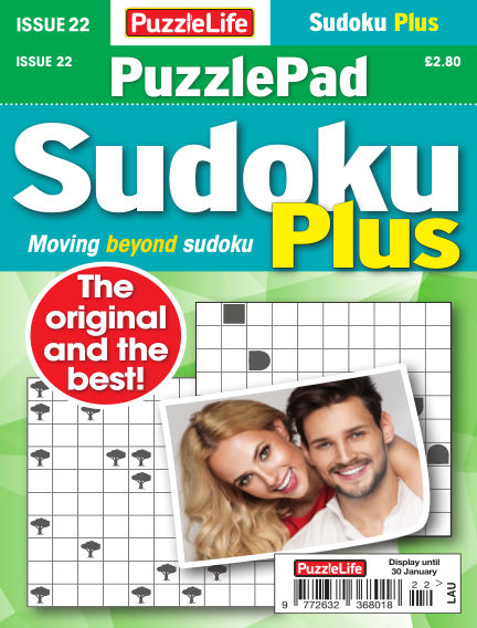 PuzzleLife PuzzlePad Sudoku Plus January 02, 2020 00:00