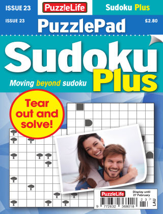 PuzzleLife PuzzlePad Sudoku Plus Issue 023