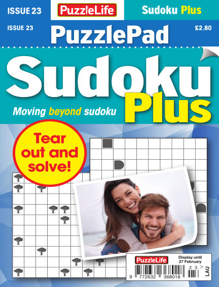 PuzzleLife PuzzlePad Sudoku Plus January 30, 2020 00:00
