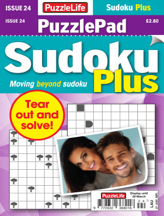 PuzzleLife PuzzlePad Sudoku Plus Issue 024