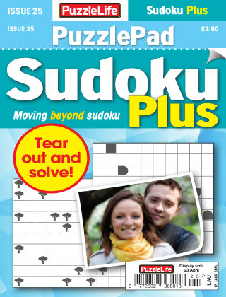 PuzzleLife PuzzlePad Sudoku Plus Issue 025