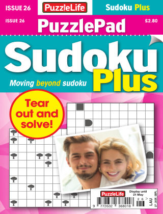 PuzzleLife PuzzlePad Sudoku Plus Issue 026