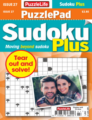 PuzzleLife PuzzlePad Sudoku Plus Issue 027