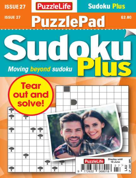 PuzzleLife PuzzlePad Sudoku Plus May 21, 2020 00:00
