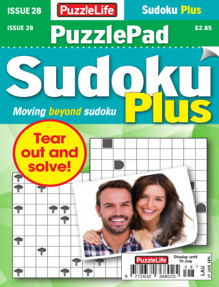 PuzzleLife PuzzlePad Sudoku Plus Issue 028