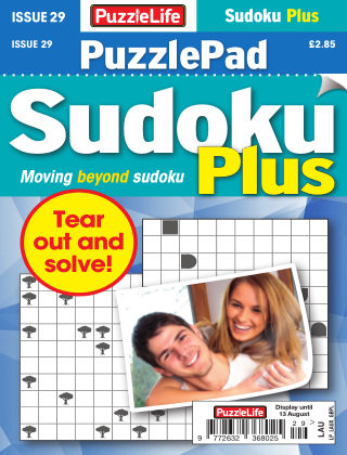 PuzzleLife PuzzlePad Sudoku Plus Issue 029