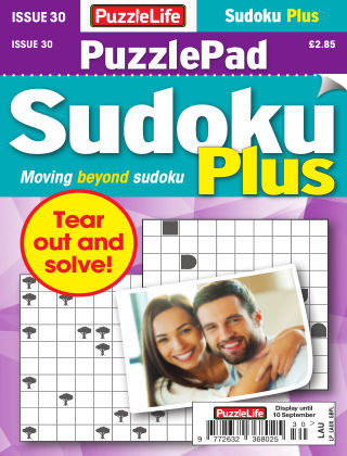 PuzzleLife PuzzlePad Sudoku Plus Issue 030