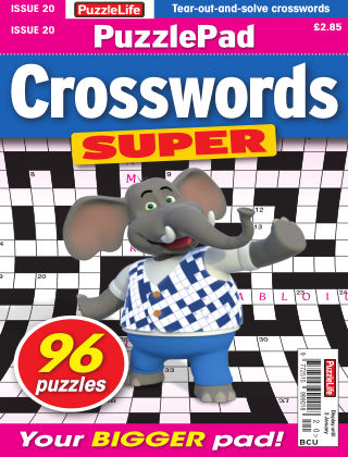 PuzzleLife PuzzlePad Crosswords Super Issue 020