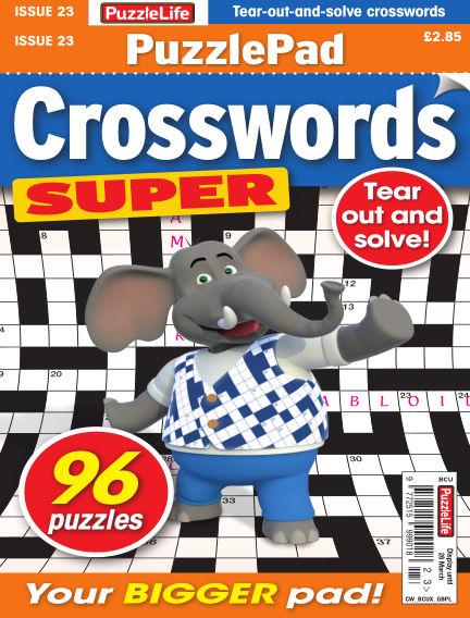 PuzzleLife PuzzlePad Crosswords Super February 27, 2020 00:00