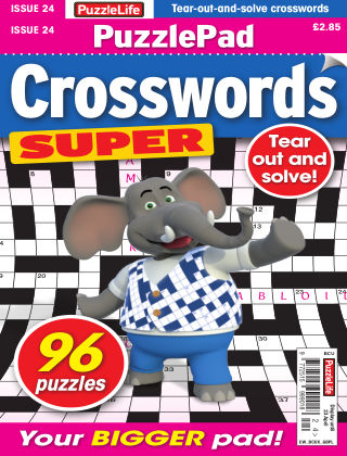 PuzzleLife PuzzlePad Crosswords Super Issue 024