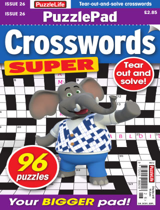 PuzzleLife PuzzlePad Crosswords Super Issue 026