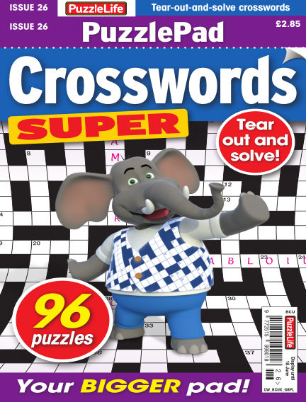 PuzzleLife PuzzlePad Crosswords Super May 21, 2020 00:00
