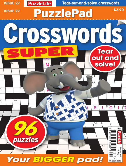 PuzzleLife PuzzlePad Crosswords Super June 18, 2020 00:00