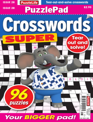PuzzleLife PuzzlePad Crosswords Super Issue 028