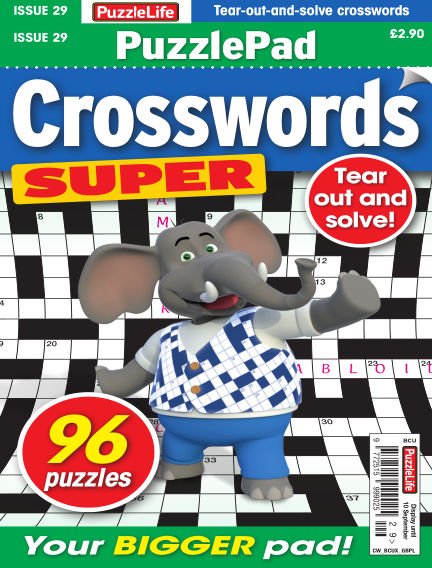PuzzleLife PuzzlePad Crosswords Super August 13, 2020 00:00