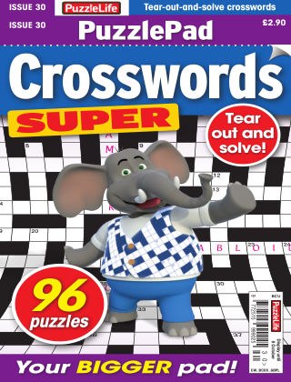 PuzzleLife PuzzlePad Crosswords Super Issue 030