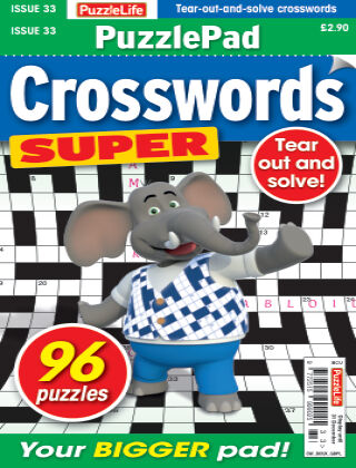 PuzzleLife PuzzlePad Crosswords Super Issue 033