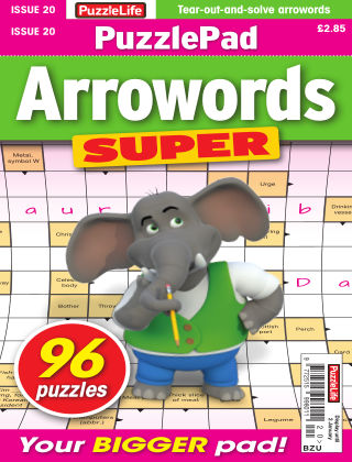 PuzzleLife PuzzlePad Arrowords Super Issue 020