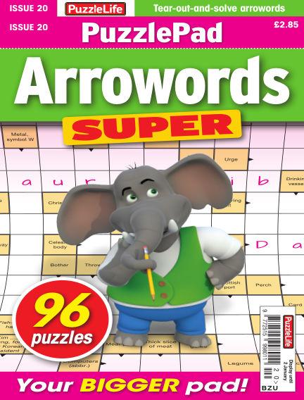 PuzzleLife PuzzlePad Arrowords Super December 05, 2019 00:00