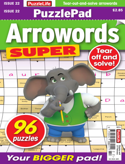 PuzzleLife PuzzlePad Arrowords Super January 30, 2020 00:00