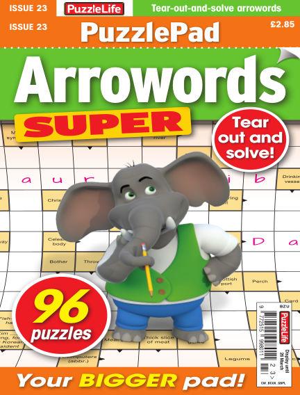 PuzzleLife PuzzlePad Arrowords Super February 27, 2020 00:00