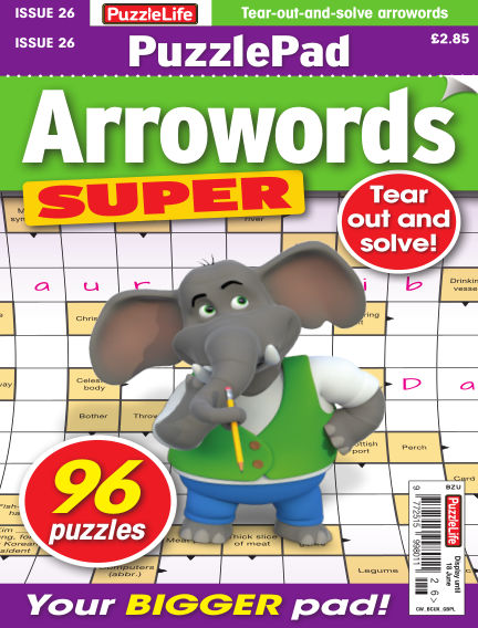 PuzzleLife PuzzlePad Arrowords Super May 21, 2020 00:00