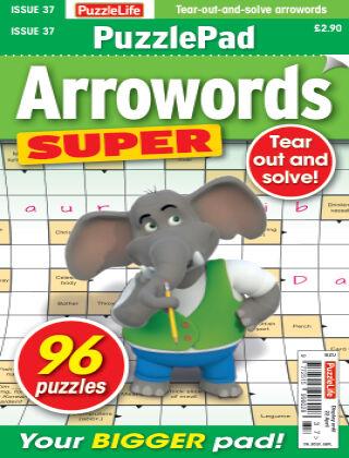 PuzzleLife PuzzlePad Arrowords Super Issue 037