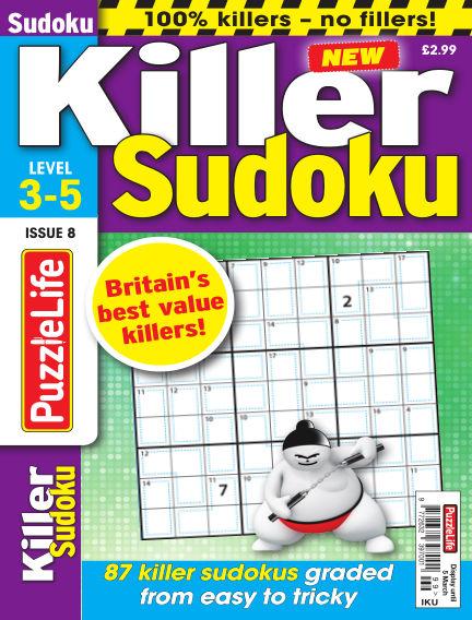 PuzzleLife Killer Sudoku February 06, 2020 00:00
