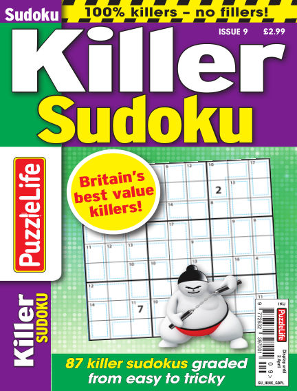 PuzzleLife Killer Sudoku March 05, 2020 00:00