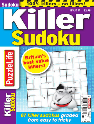 PuzzleLife Killer Sudoku Issue 011
