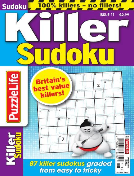 PuzzleLife Killer Sudoku April 30, 2020 00:00