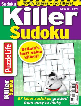 PuzzleLife Killer Sudoku Issue 015