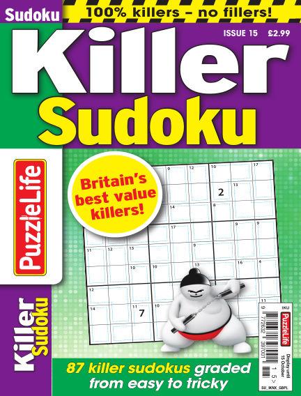 PuzzleLife Killer Sudoku August 20, 2020 00:00