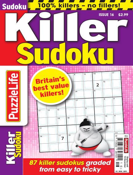 PuzzleLife Killer Sudoku October 15, 2020 00:00