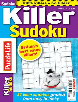PuzzleLife Killer Sudoku Issue 017