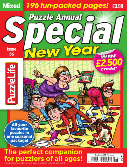 PuzzleLife Puzzle Annual Special December 12, 2019 00:00