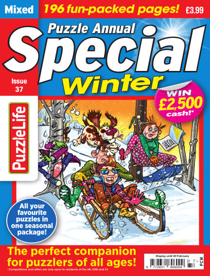 PuzzleLife Puzzle Annual Special January 16, 2020 00:00