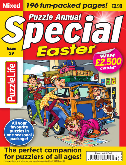 PuzzleLife Puzzle Annual Special March 26, 2020 00:00