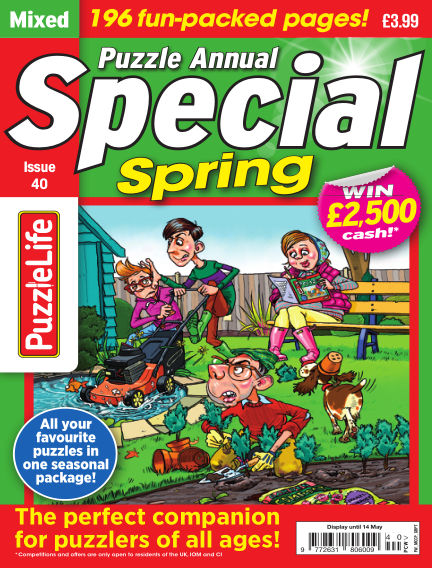 PuzzleLife Puzzle Annual Special April 23, 2020 00:00